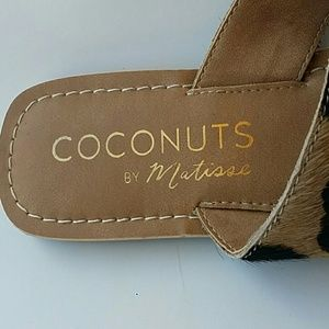 Coconuts by Matisse Shoes - Coconuts Matisse Bam Bam Leather Cow Fur Flip Flop